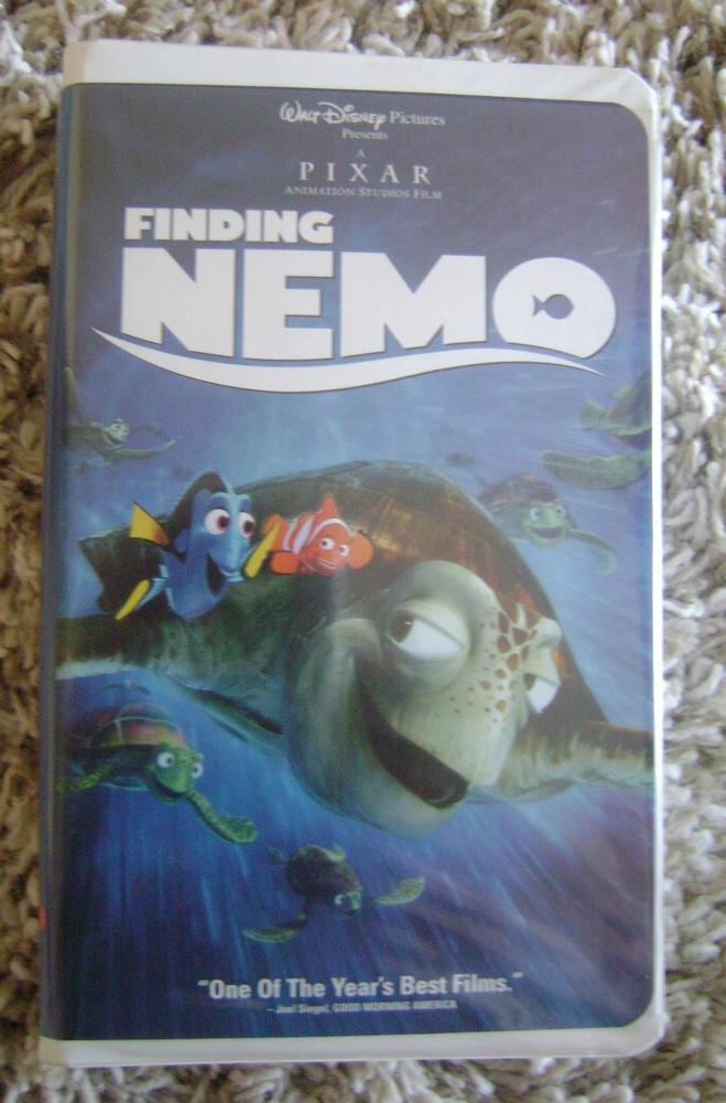 Disney Pixar Finding Nemo VHS Video | eBay